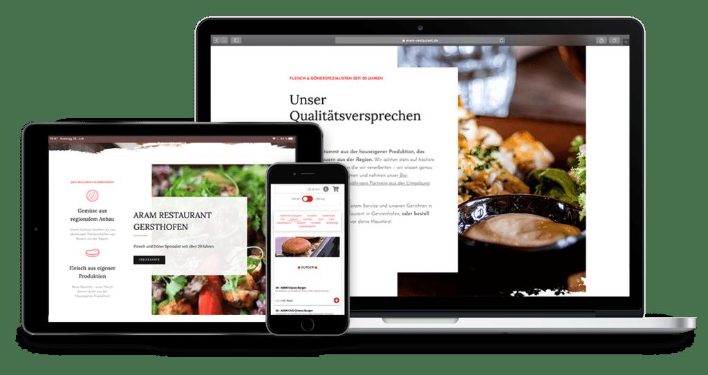 Webshop Onlinebestellung für Restaurants Onlinebestellsystem für Lieferdienste Lieferando Alternative